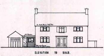 Elevation of the Rectory 1968 [Z889/2/32]